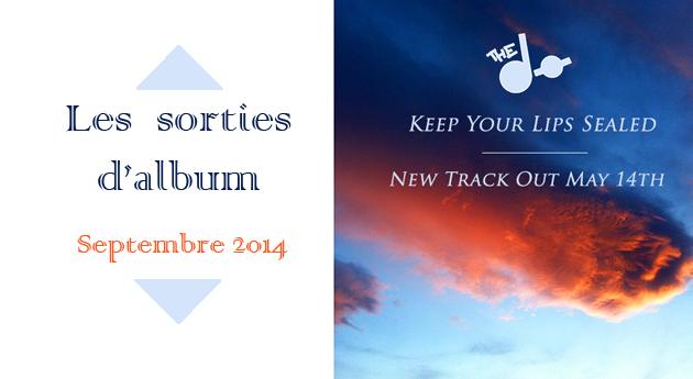 Les sorties d'album du mois - Septembre 2014