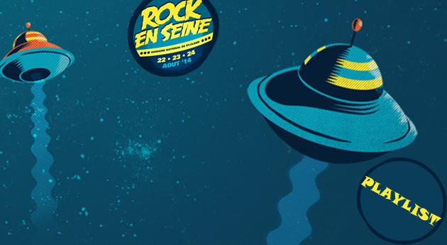 Playlist spéciale Festival Rock en Seine