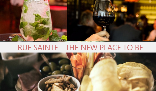 La rue Sainte, the new Place to Be � Marseille