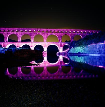 Les Feeries Du Pont Du Gard 2018 Du 01 06 2018 Au 09 06