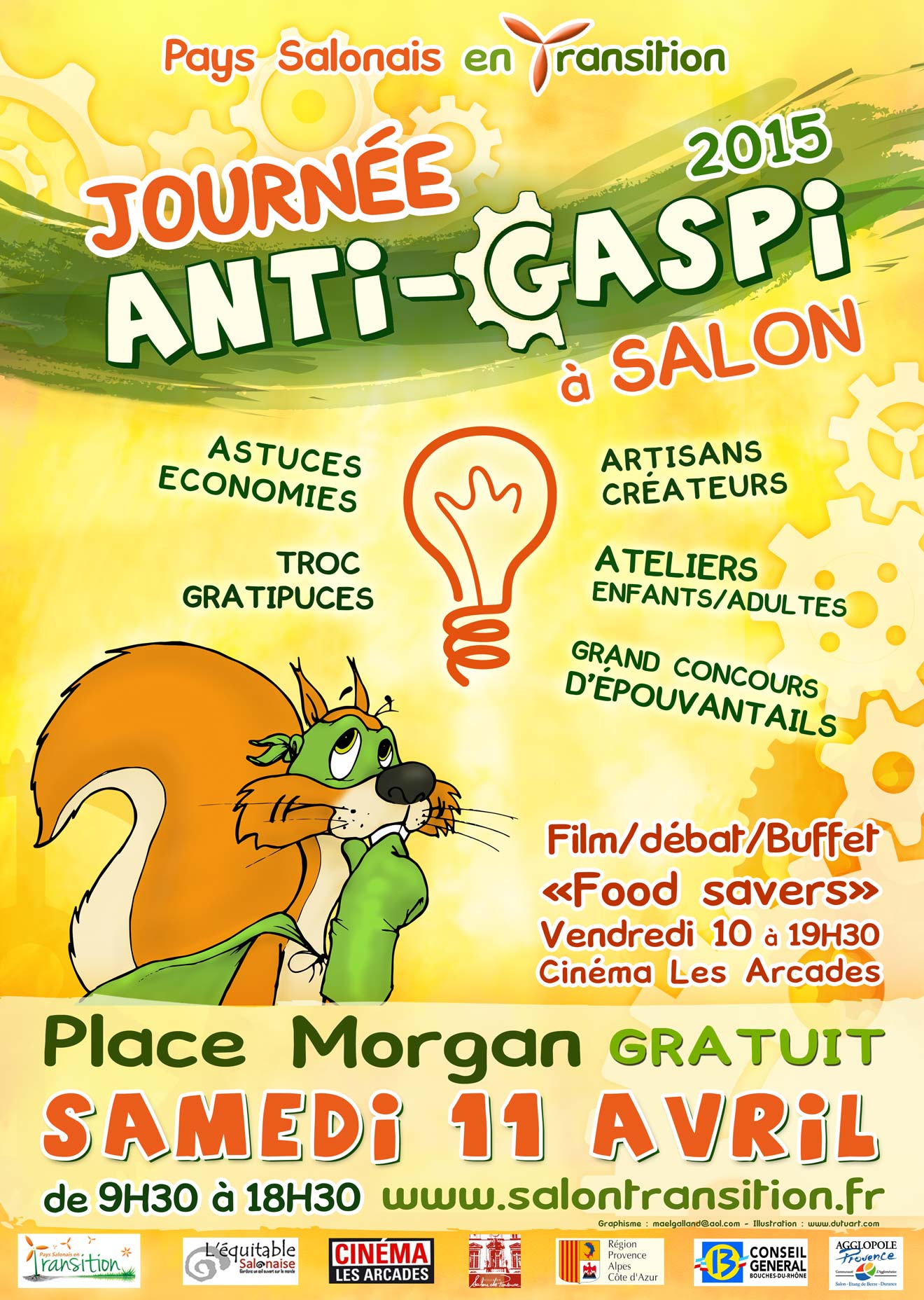 Journ e anti gaspi du 10 04 2015 au 11 04 2015 salon - Allocine salon de provence les arcades ...