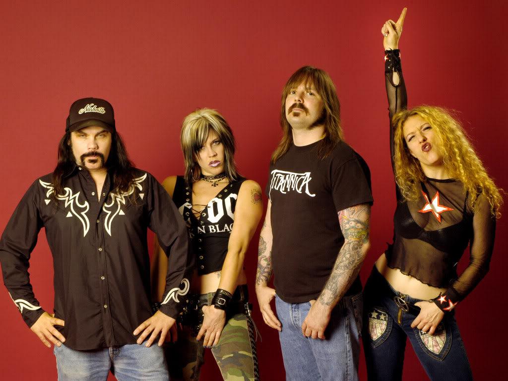 Nashville Pussy Band 77