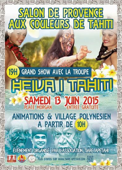 journ e tahiti 13 06 2015 salon de provence frequence