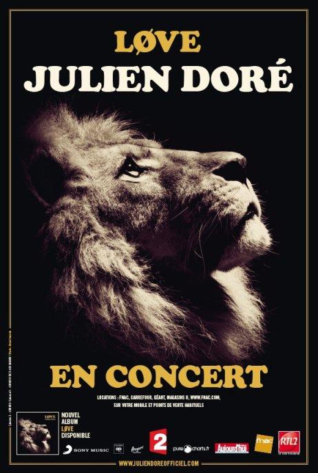 Places suppl�mentaires pour le concert de Julien Dor� ce soir � Nice !