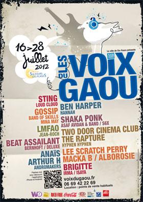 Les Voix du Gaou 2012