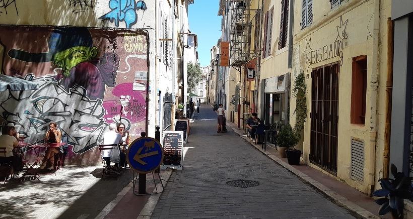 Marseille : le Panier plein les mirettes, plein les papilles !
