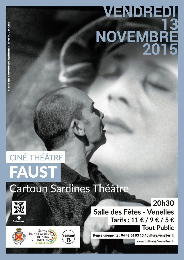 Faust par le Cartoun Sardines Théâtre
