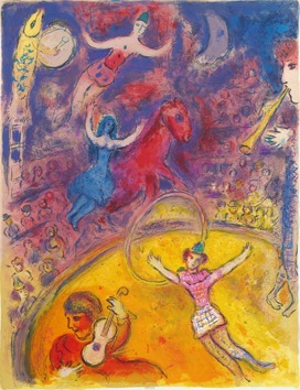 Marc chagall le cirque du 02 05 2016 au 29 09 2016 for Chagall tableau