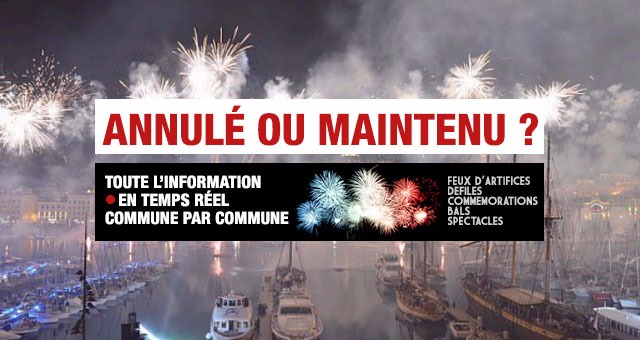Feux d'artifice du 15 juillet : Le point sur les annulations � cause du mistral en Provence