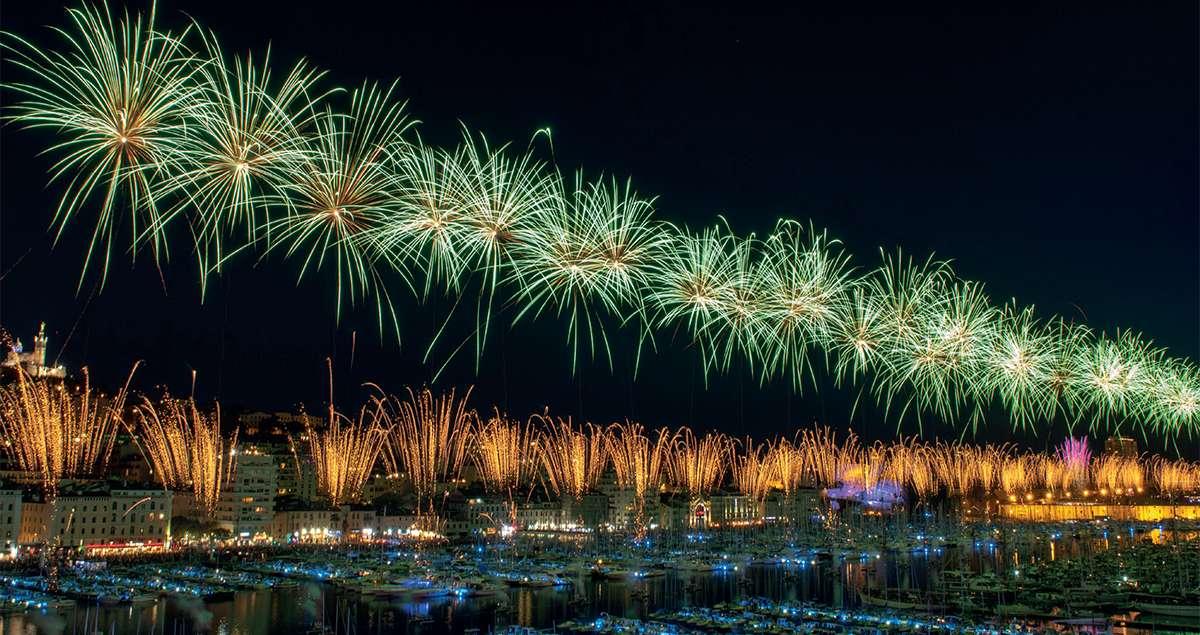 Festivit�s du 14 juillet dans le Var
