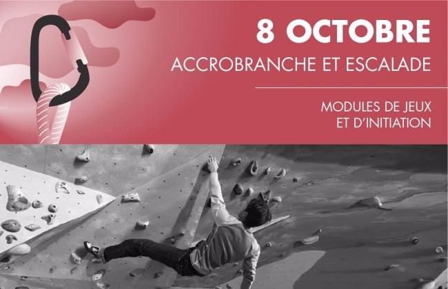 Accrobranche et escalade 08 10 2016 aix en provence frequence - Accrobranche salon de provence ...