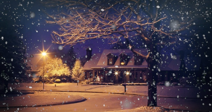 No�l  � la neige