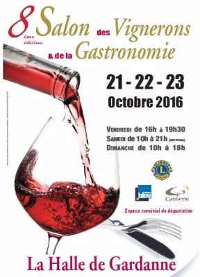 salon des vignerons et de la gastronomie du 21 10 2016 au 23 10 2016 gardanne frequence. Black Bedroom Furniture Sets. Home Design Ideas