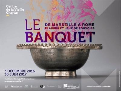 Le banquet de Marseille � Rome, plaisirs et jeux de pouvoirs