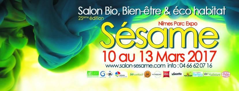 Salon s same du 10 03 2017 au 13 03 2017 n mes for Salon bio nimes