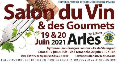 Salon du vin des gourmets du 04 03 2017 au 05 03 2017 for Salon arles