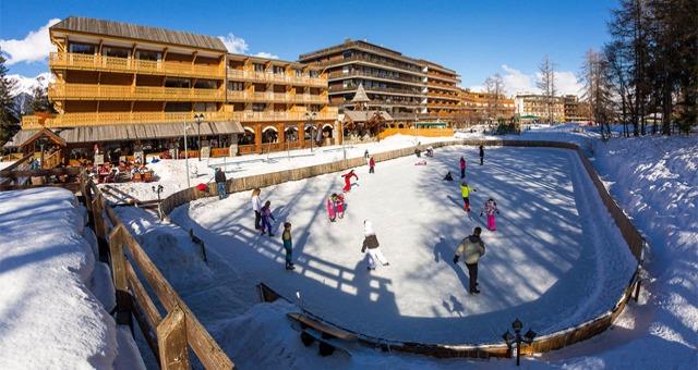 Les patinoires des Alpes du Sud