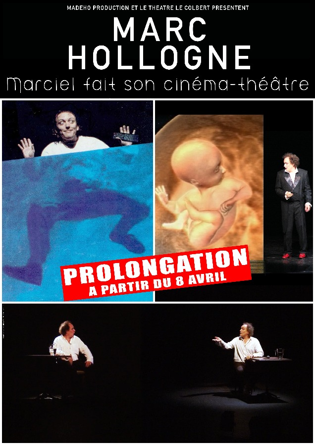 Marc Hollogne prolonge son cin�ma-th��tre � Toulon