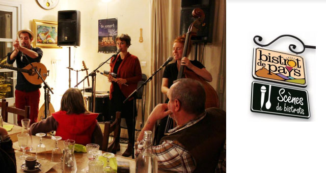 Sc�nes de Bistrots : quand les artistes s'invitent � votre table !