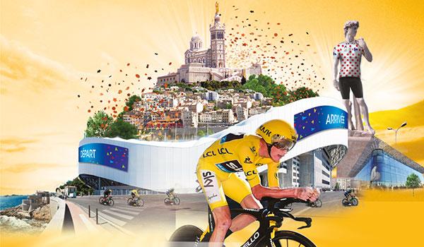 O� voir le Tour de France � Marseille ?