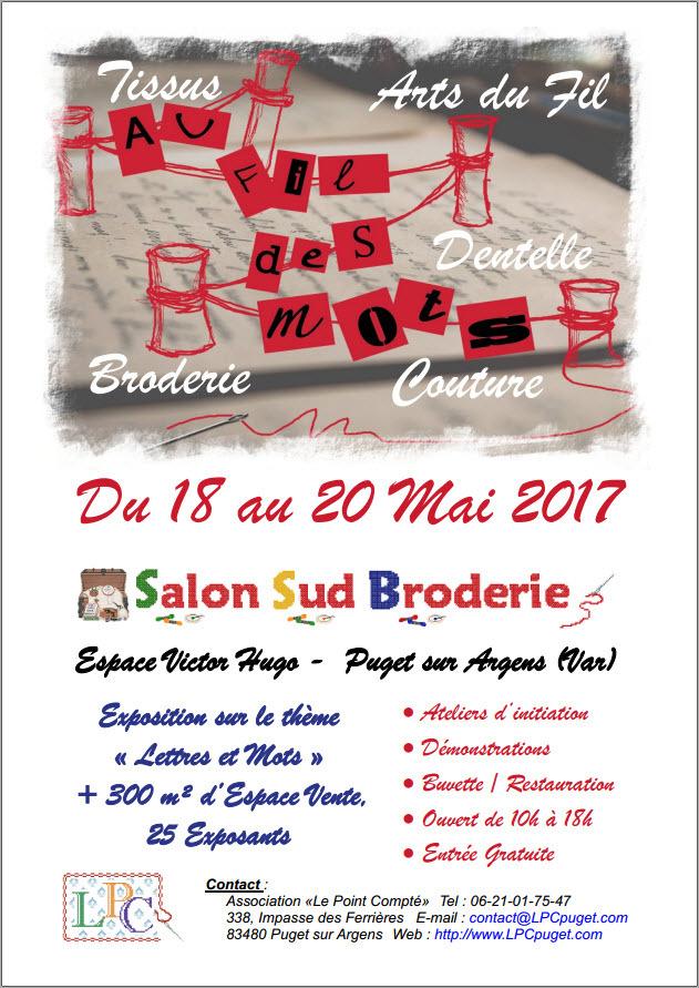 salon sud broderie 2017 du 18 05 2017 au 20 05 2017