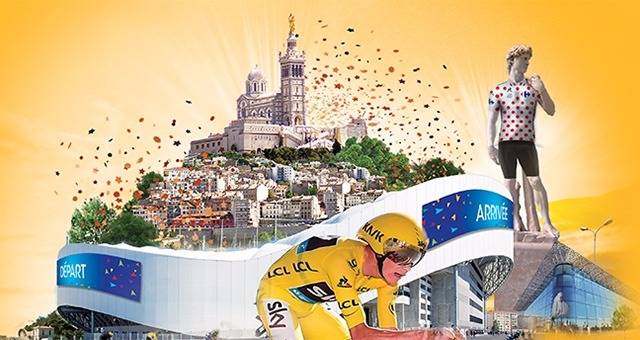 Comment circuler en transport en commun � Marseille pour le Tour de France ?