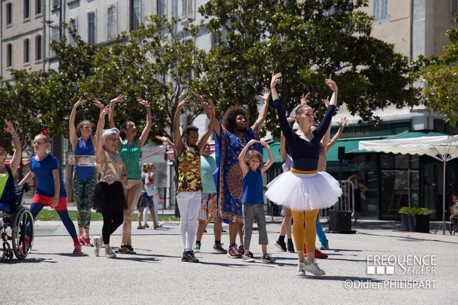 Le Gala du festival de Marseille sur la Canebi�re