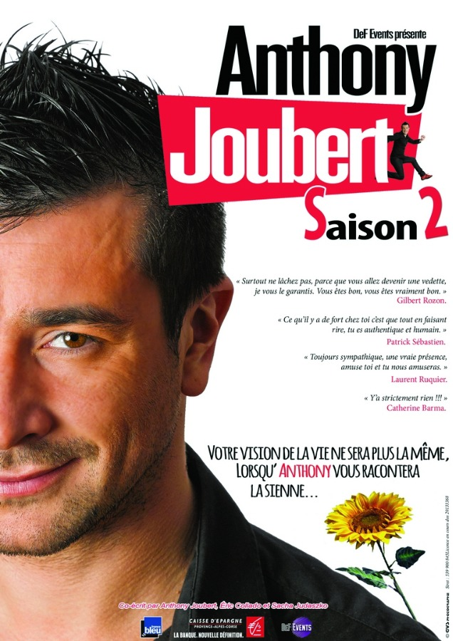 Anthony Joubert Saison 2