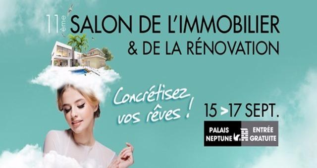 Salon de l 39 immobilier et de la r novation du 15 09 2017 au 17 09 2017 toulon frequence - Salon de la renovation ...