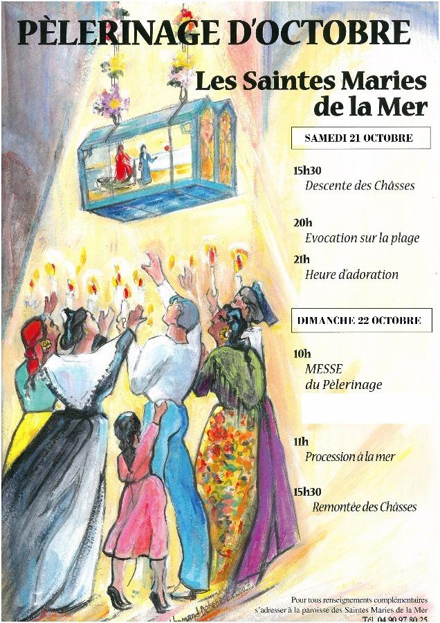 P lerinage d 39 octobre aux saintes maries de la mer du 21 - Les saintes glaces 2017 ...