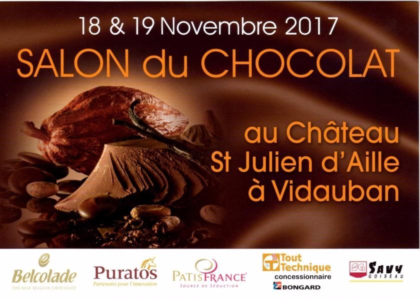 Salon du chocolat au ch teau saint julien d 39 aille 19 11 - Salon du chocolat reims 2017 ...