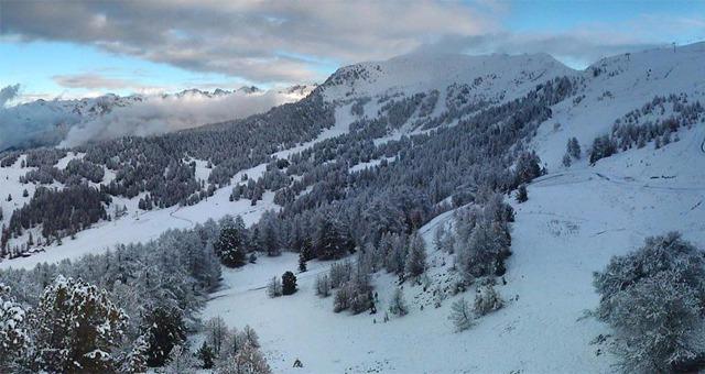 Les premi�res chutes de neige sont arriv�es dans les Alpes du Sud