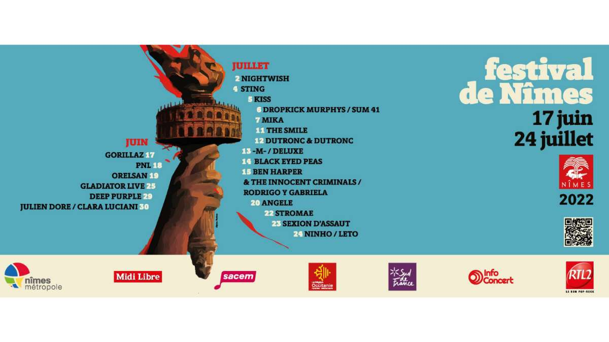 Festival de Nîmes 2018, le point sur la programmation
