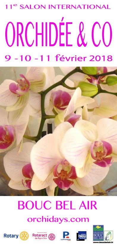 11e salon international orchid e co du 09 02 2018 au 11 02 2018 bouc bel air frequence. Black Bedroom Furniture Sets. Home Design Ideas