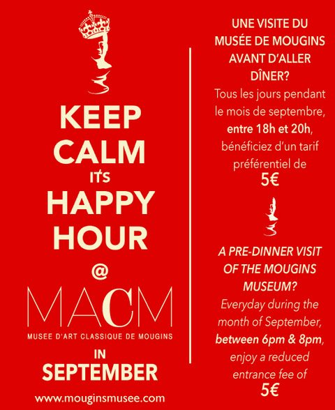 Happy Hour au MACM