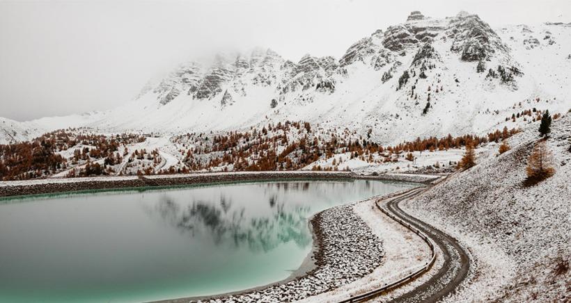 Alpes du Sud: les premiers flocons de la saison sont tomb�s