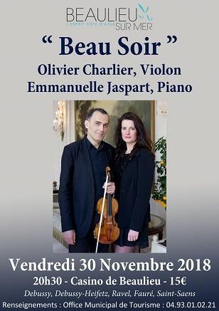 Beau soir - 30/11 - Beaulieu-sur-Mer