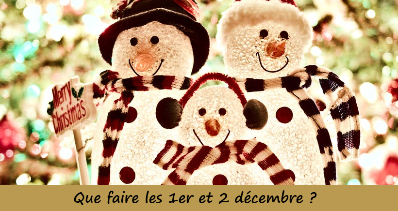 Que Faire A Noel.Que Faire Ce Week End Du 1er Et 2 Décembre En Provence Les
