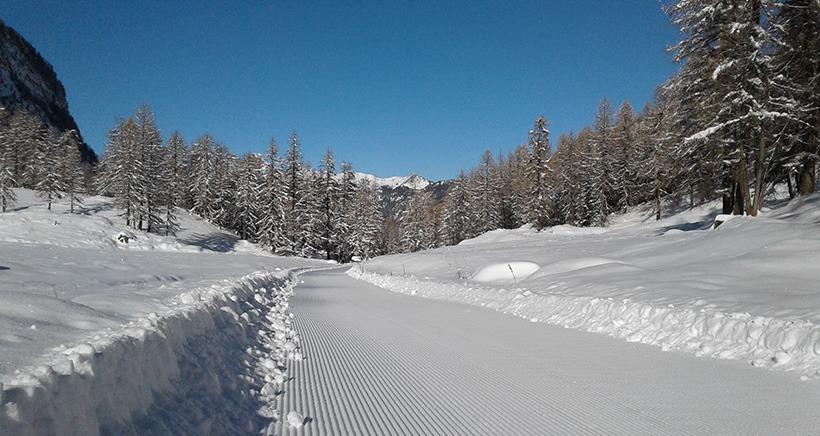 Dans le Queyras aussi les pistes de ski ouvrent en avance et d�s ce weekend
