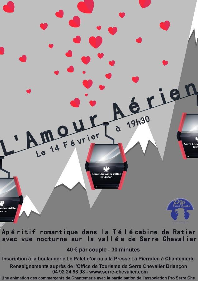 Pour la Saint Valentin, envoyez-vous en l'air au dessus de la vall�e de Serre Chevalier