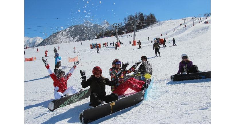Profitez des derni�res semaines de ski � Ancelle, on vous invite !