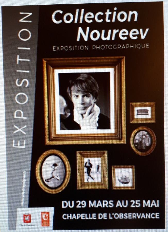 EXPOSITION PHOTOGRAPHIQUE COLLECTION NOUREEV