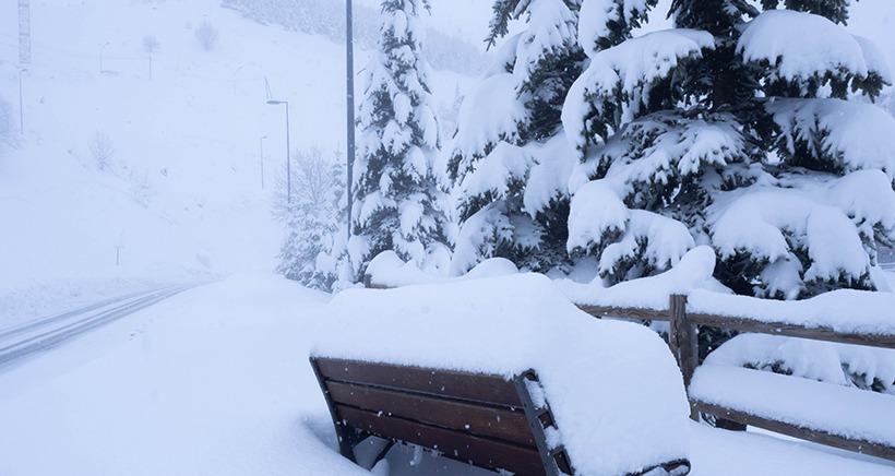Plus de 50cm sont tomb�s dans les Alpes du Sud ces derni�res heures