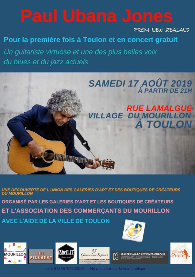 Concert jazz gratuit de Paul Ubana Jones