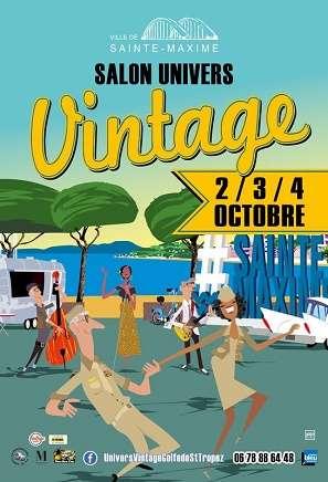 Salon Univers Vintage 2019 , Du 04/10/2019 au 06/10/2019