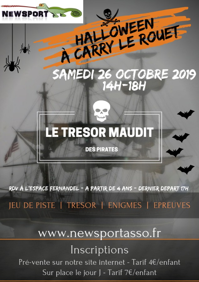 Halloween à Carry le Rouet - Le trésor maudit des pirates