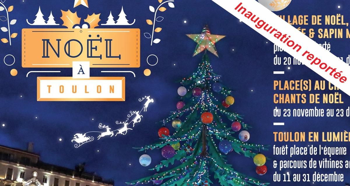 Noël à Toulon: inauguration du village de Noël reportée - Frequence-Sud.fr