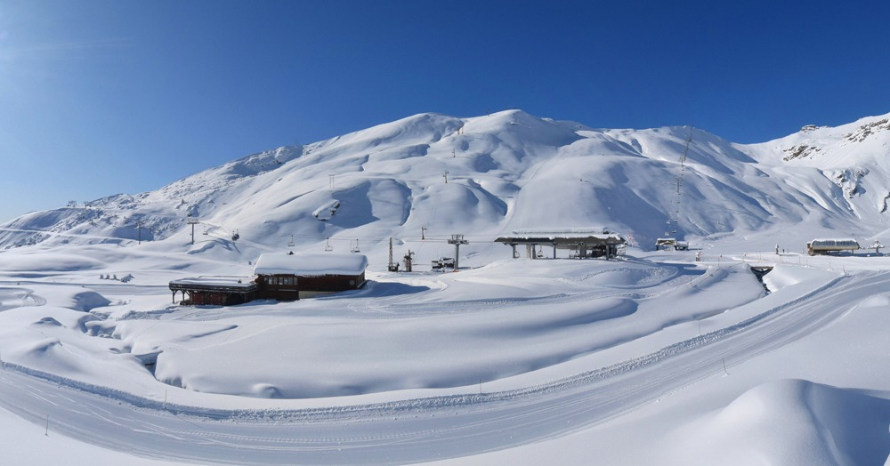 Orci�res ouvre son domaine skiable ce weekend avec 1m40 de neige au sommet