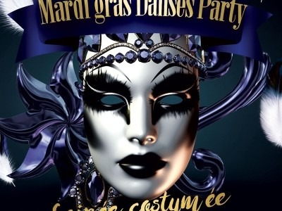 Mardi gras danses party