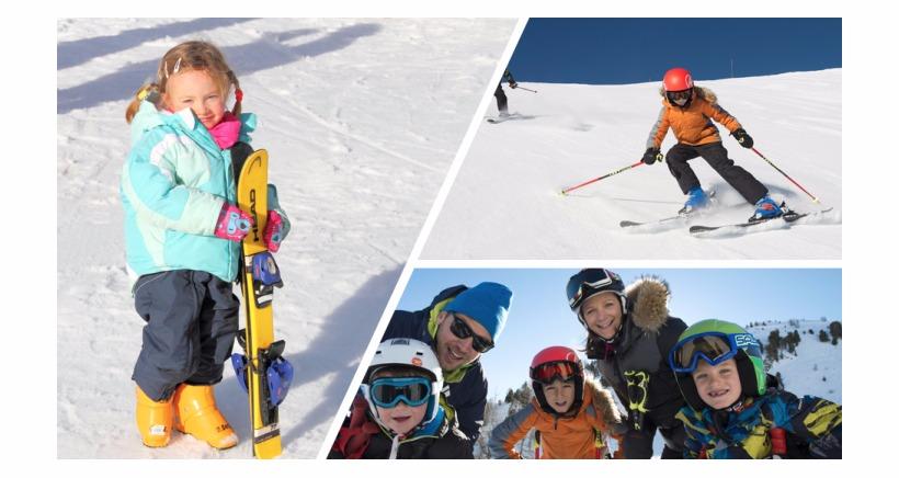 Week-End des enfants sur les pistes du massif de Blanche-Serre Pon�on